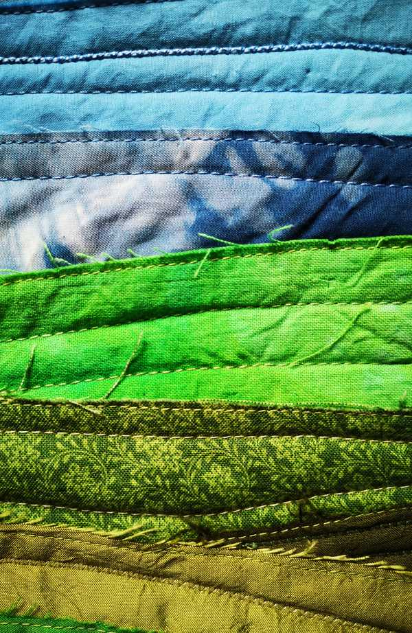 Second example of a textile landscape