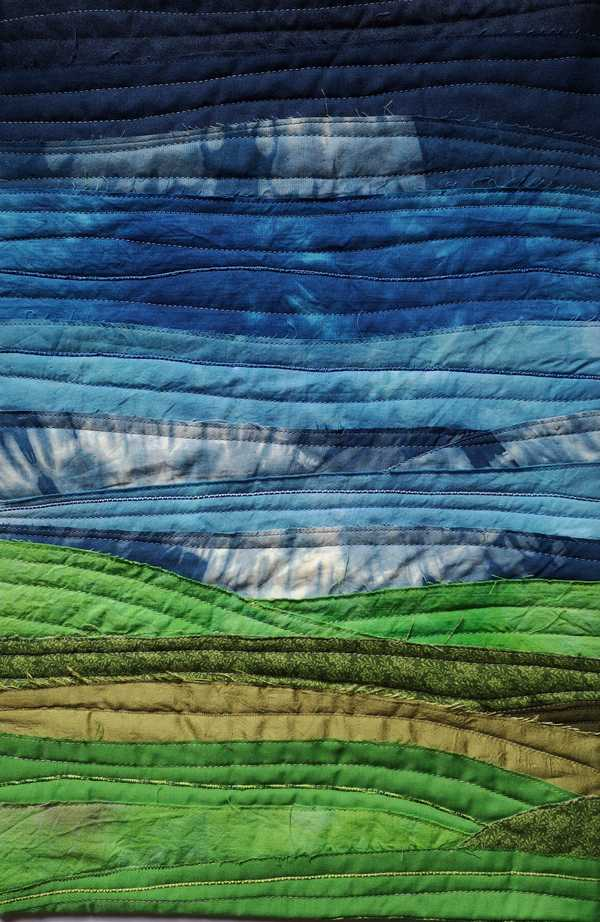 First example of a textile landscape